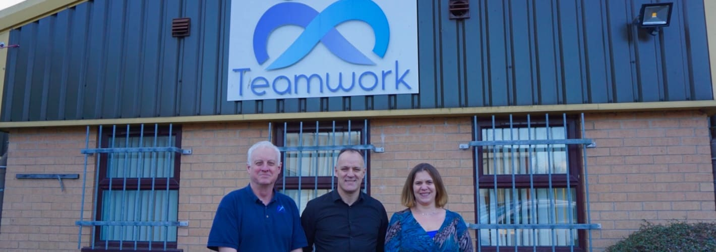 Teamwork Trust is Gateway HR's Charity of the Year