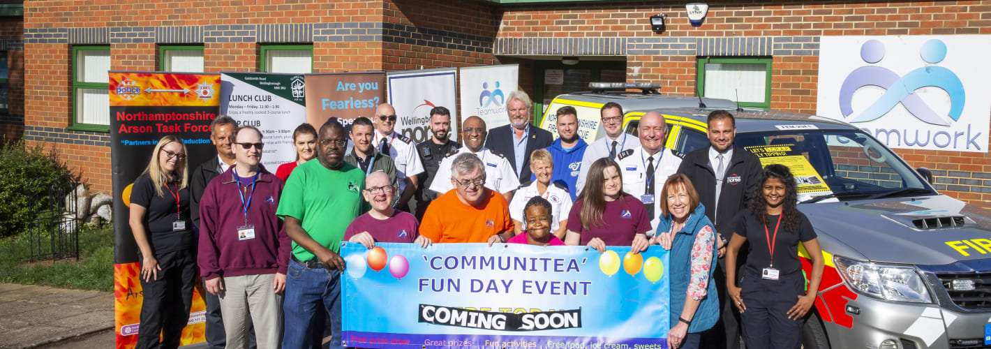 Teamwork service-users help promote community safety
