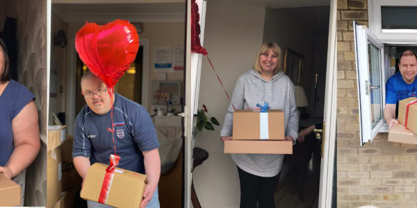 Love is in the air...an overwhelming response to our Valentine's gifts